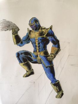 Thanos by Mechafire1234