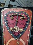 Clockwork Heart Stomacher panel - detail by semperphi60