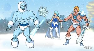 Ice attack! by MikeBock
