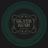 Fallout New Vegas Silver Rush poker chip by JaggedGenius