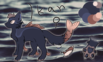 Ikan reference sheet by Miss-Claws