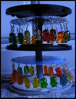 CD Earring Stand: An Extention by MuffinSquee