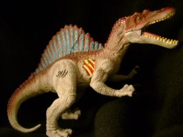 spinosaurus toy from JP3 by PokepictureFigurefun
