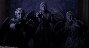 MetroCon: Weeping Angels by stillreflection