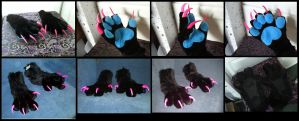 Handpaw and Footpaw Set SOLD by CuriousCreatures