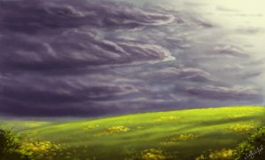 Field Speedpaint by dewdrop34
