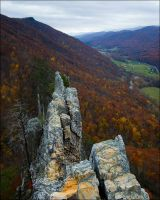 Seneca Rocks by aponom