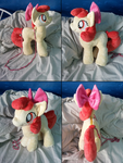 Apple Bloom Plushie/Purse by Azedo
