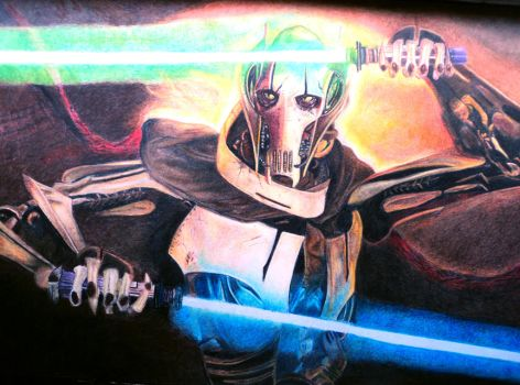 General Grievous - Star Wars by patyfer