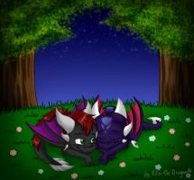 Good night.. by Klio-the-Dragon