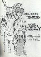 Donnie Darko and Frank by heyclement
