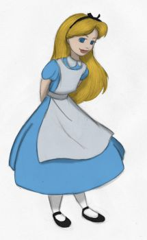 Alice Sketch Color - Kimberly-Castello by Blueoriontiger