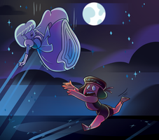Ruby and Sapphire by MissMistyMoo