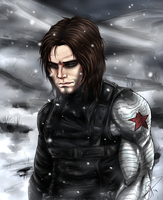 They call him 'The Winter Soldier' by Akijura