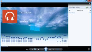 Windows Media Player Metro Style Visualisation by Zulusus
