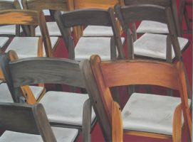 Chairs on the Circle Line by DontDeconstruct