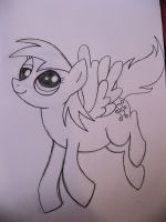 Derpy Hooves drawing by mirry92