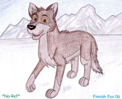 No Ref Balto by FinnishFox