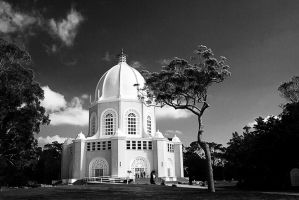 Bahai Temple Terry Hills_05 by ijahn