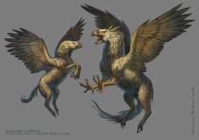 Hulking Hippogriff by MIKECORRIERO