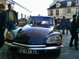 Paris, Citroen DS by FastDevil76