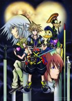 RE: Kingdom Hearts II by mokmok07
