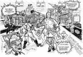 Hellboy Vs Nazi Zombies by PR-Scholtz