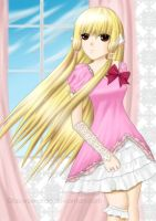 Request - chobits - chii by GlacyRoserade