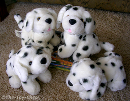 Barking Dalmatian Plushes by The-Toy-Chest