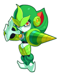 Sprout Woman Powered up by ultimatemaverickx