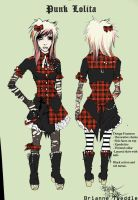 Punk Lolita Design by Neumorin