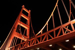 Fake Golden Gate Bridge by explodingDYNOMITE