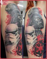 Star wars cover tattoo by tpenttil