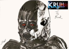 krull: the beast by R-Clifford