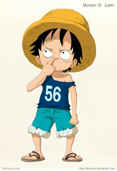 Kid Luffy by DEIVISCC