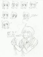 Florence expressions by Yoru-the-Rogue