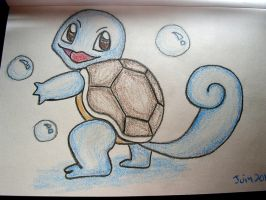 Squirtle by vivgxojo