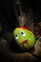 WALTER MELON  the ZOMBIE by SublimeBudd