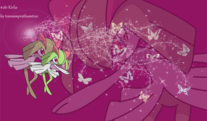 #281 Kirlia by tonnamprathumtree