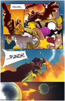 Falcon Punch! by HeavyMetalHanzo