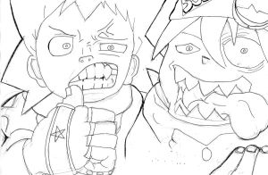 soul and black star by kidkb09