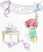 A Merry 2nd Birthday by ShibuyaCrow
