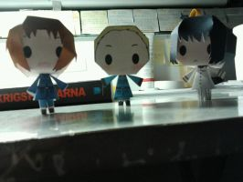 Hetalia: The Axis Powers Papercraft by mirver