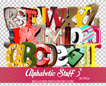 Alphabetic Stuff 3 by Bellacrix