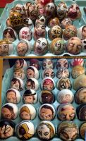 The Walking Dead  Easter eggs 2014 by Rene-L