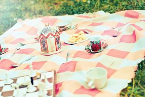 Summer Tea Party by Tamerlana