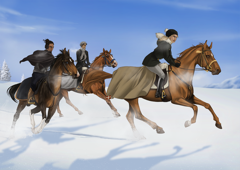 COLLAB: Dashing through the snow by Zoubstance