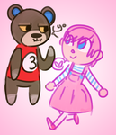 Animal Crossing doodles Yo by 5M0GGY