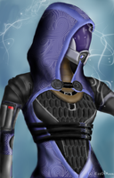 Tali'Zorah - Spirits by KissOfMoon
