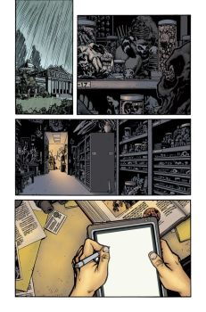 Aliens Color Sample Page 1 by AdamGuzowski